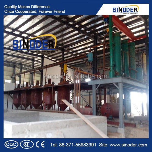 SINODER Brand New technology wet process wet process wet process 300TPD coconut oil extraction plant machinery