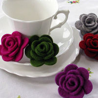 Colored Wool Felt for Felt Crafts