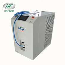 Hydroxy gas system with diesel generator hydrogen fuel cell for car