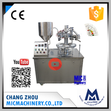 Micmachinery High-ranking MIC-R30 manual cosmetic cream tube filling sealing machine