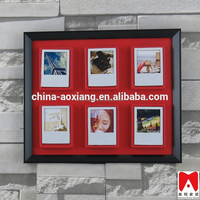 China direct manfacturer beautiful picture frame, colorful Plastic home decoration art craft models