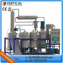 VTS-PP Waste Lubricants Engine Oil Recycle Machine Waste Engine Oil Regenerate Plant