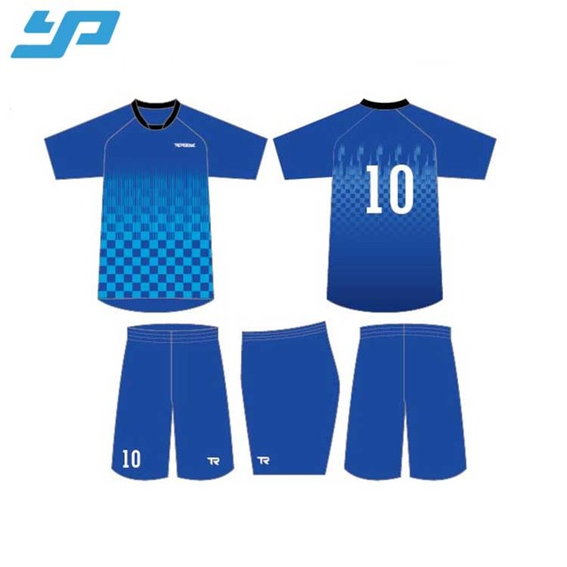 OEM high quality soccer shirt football jersey sublimated polyester soccer uniform