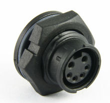 standard 2+4 pin,10A+5A,250V, outdoor waterproof connector ,superior electrical and mechanical properties