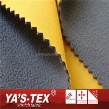 Low Price Soft Polyester Laminated TPU Micro Fiber Stretch Fabric For Sportswear