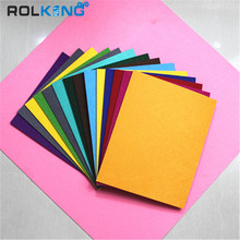 polyester viscose fabric, 100% colorful polyester felt