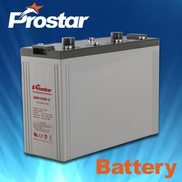 2V 1000AH Lead Acid Battery With Super Performance