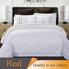High standard beautiful cheap disposable 100% cotton hotel bed linen for 5 star hotel