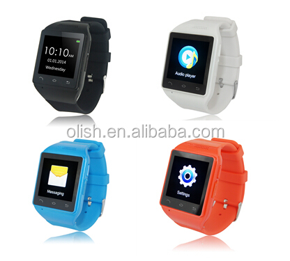 New Model Quadband Bluetooth Watch Mobile Phone S18