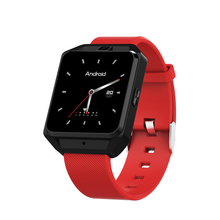 New Arrival World Time Clock Red Hand Watch Phone