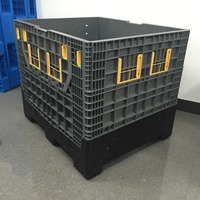 1200*1000*1000mm big plastic boxes with lid/antistatic transport plastic box