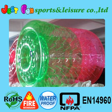 customized park lake inflatable water walking roller games