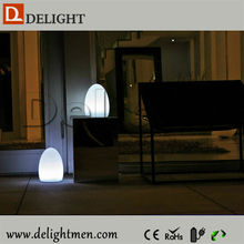 Best selling outdoor ip65 glowing 16 color wireless control led modern mood lighting egg
