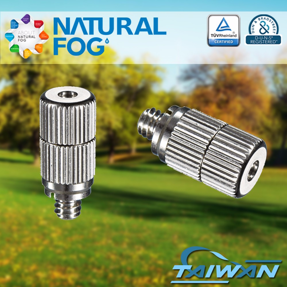 Taiwan Natural Fog Fine Droplet Stable Flow Rate Greenhouse Ceramic Nano Mist Nozzle