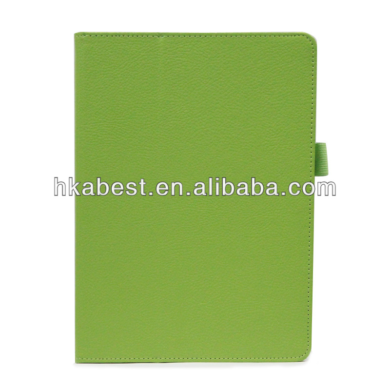 New Product Smart Leather Cover For Apple iPad Air,Lichee Pattern For iPad Air Leather Case