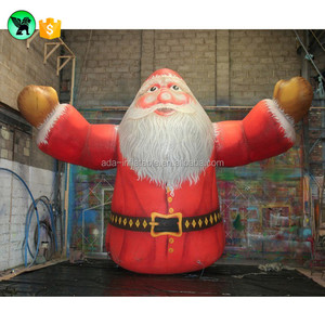 New Christmas Inflatable Decoration Lovely Santa Cartoon Large Claus For Advertising Y14