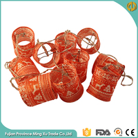 Red Elk String Paper Chinese Lantern Christmas Lights