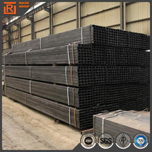 square tube astm a500 welded square hollow section 40x40x2.5 black welded carbon steel piping