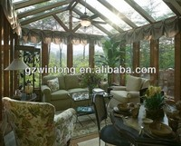 competitive price tempered glass and aluminium frame sunrooms with Australia standard