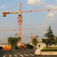 TC5612, 56m boom length, 1.2t tip load, 6t chinese tower crane