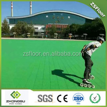 High quality synthetic roller skating court flooring
