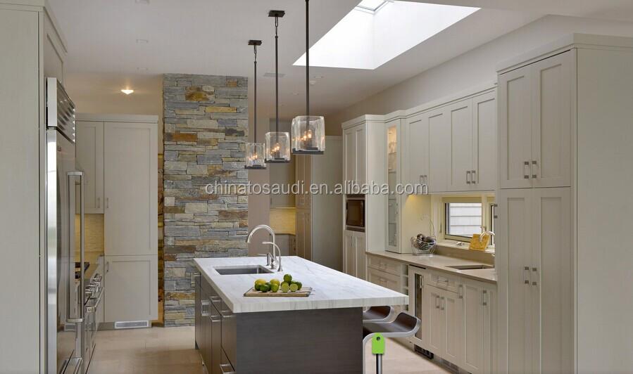 Latest modern melamine kitchen cabinets set design island for Melamine kitchen designs