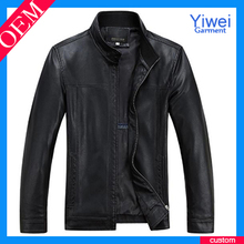 customs soft thin leather jacket