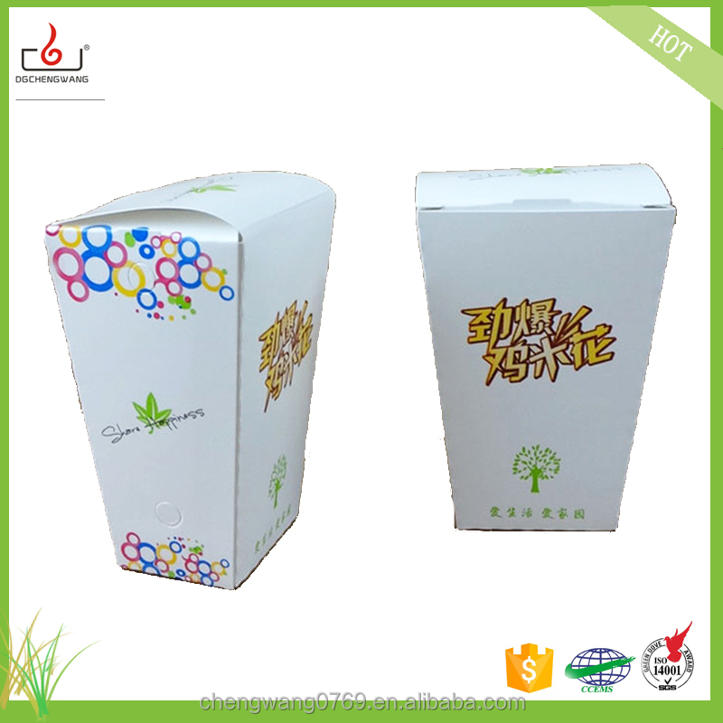 2017 New frozen food box packaging with great price
