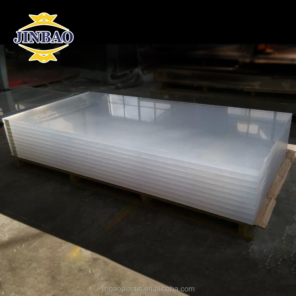 Jinbao unbreakable aquarium thick clear 20-300mm acrylic <strong>sheet</strong>