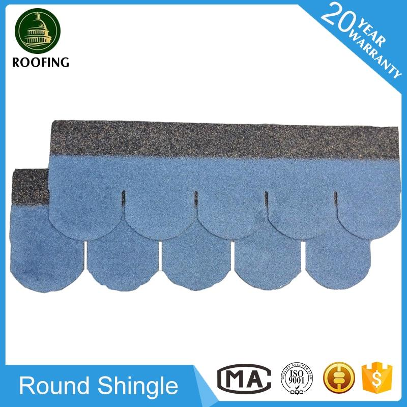 2016 hotsale Round Asphalt Roof Shingles Manufacturers,roof shingle for house