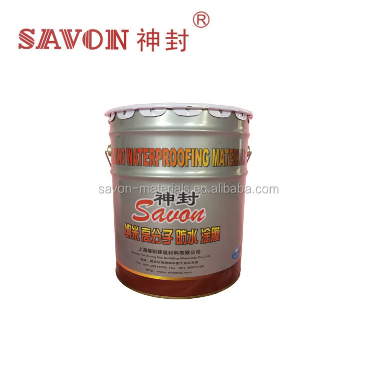 Factory Outlet Nano Polymer Water Based Waterproof Coating with Best Price