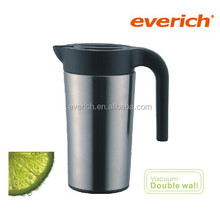Insulated double layer stainless steel milk jug