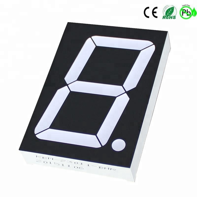 Super red 1.2 1.5 2.3 inch one digit large 7 segment led display common anode