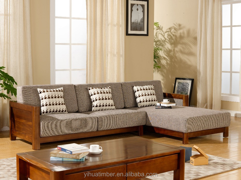 Yihua Gabon Series New Chinese Style Wooden Furniture Model Home Sofa Set Buy Wooden Furniture