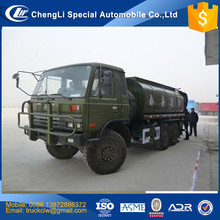 CLW Dongfeng 6x6 all wheel drive Water tank Truck 15 m3 15000L 15tons off-road Fire fighting pump truck bowser sprinkling 4x4