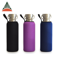 Insulated Neoprene Sport Sac Water Bottle Holder Cover Sleeve Pouch Cooler Bag