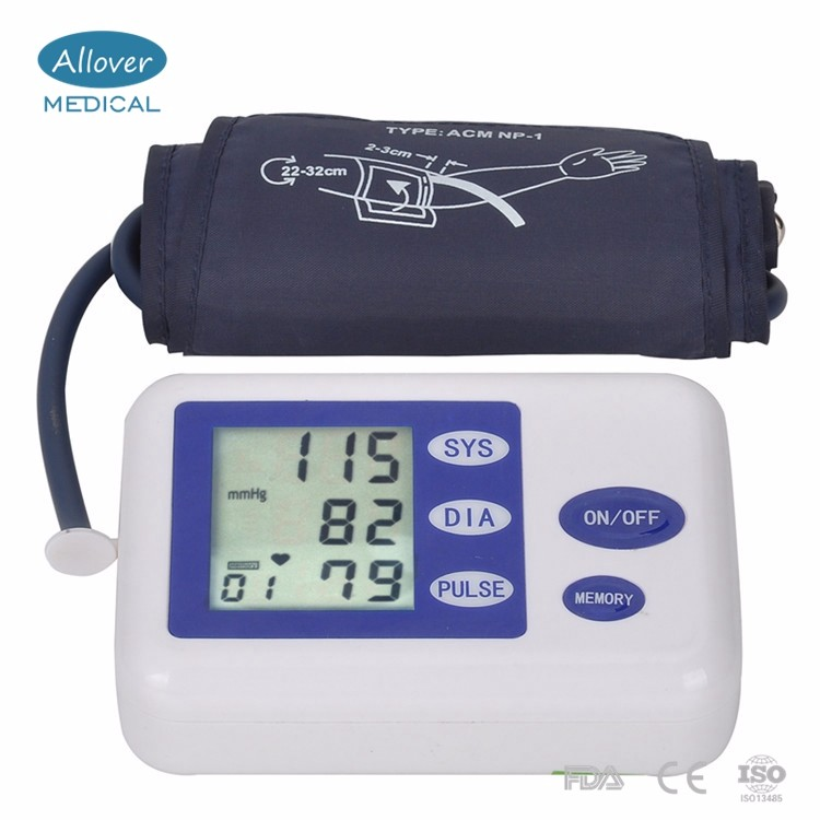 Digital Arm Blood Pressure Monitor Upper Automatic Monitor Heart Beat Meter