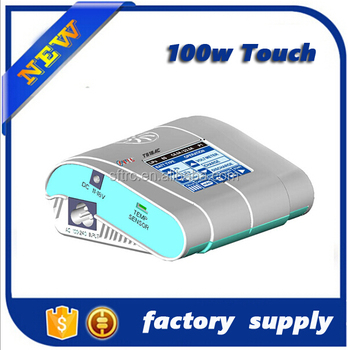 New arrival fast charger T610 AC DC lipo battery charger with 100W 10A sensitive touch screen from shenzhen factory