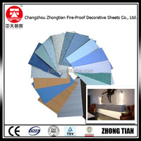 glossy surface high pressure melamine laminate decorative sheet