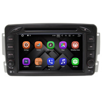 android 7.1 7 inch 2 Din 2GB RAM car audio system for mercedes w203 CLK W209 M W16 gps navigation Bluetooth-Enabled Built-in GPS