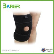 Hinged stretch guard flexible Neoprene knee support