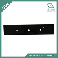 3mm 4mm Silkscreen Tempered Oven Control