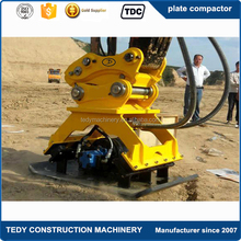 10tons excavator hydraulic vibrating plate compactor with big power