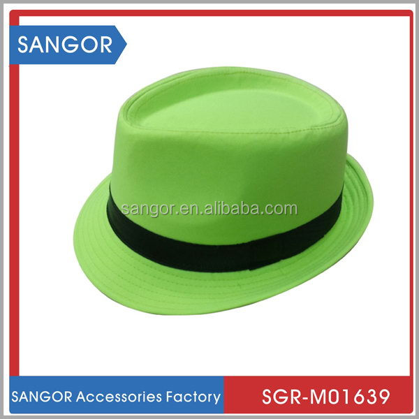 New arriving innovative gangster fedora panama hat