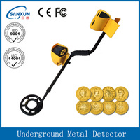 high sensitivity deep depth ground search gold detector rechargeable metal detector