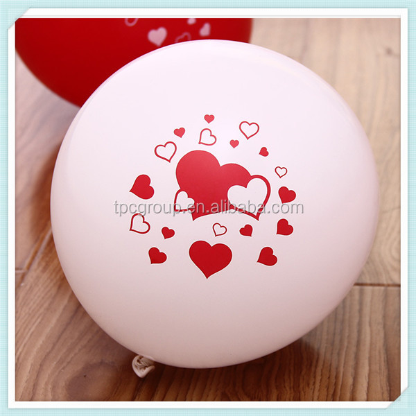 100% natural latex balloon inflatable for party