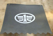 custom mud flaps for cars/plastic bus front and rear wheel mudguard