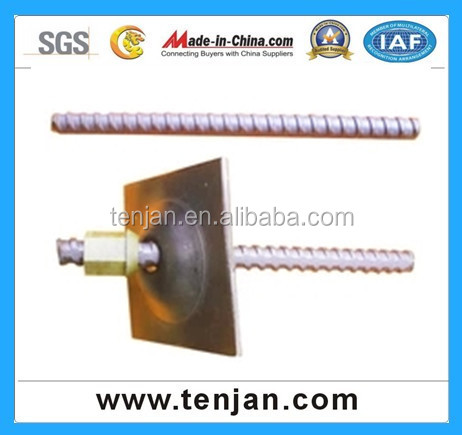 High Strenght hollow grouting self drilling anchor bolt