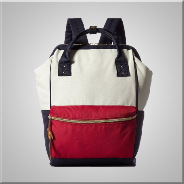 Anello backpack with large capacity in a Choice of Colour