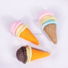 Fake Miniature Polymer Clay Ice Cream Cone DIY Accessory